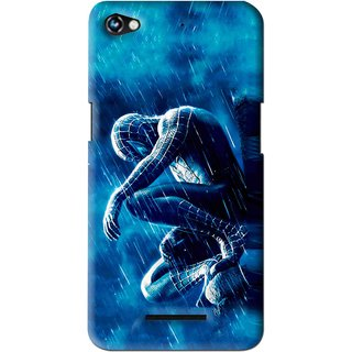 Snooky Printed Blue Hero Mobile Back Cover For Micromax Canvas Hue 2 - Multi