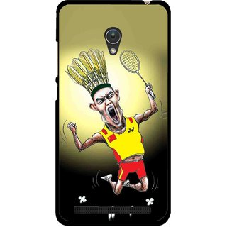 Snooky Printed Adivasi Sports Mobile Back Cover For Asus Zenfone 5 - Multicolour