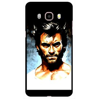 Snooky Printed Angry Man Mobile Back Cover For Samsung Galaxy J5 (2016) - Multicolour
