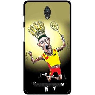 Snooky Printed Adivasi Sports Mobile Back Cover For Asus Zenfone C - Multicolour
