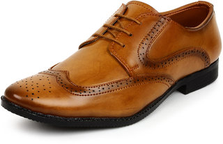 Buwch formal brown shoe for menboys