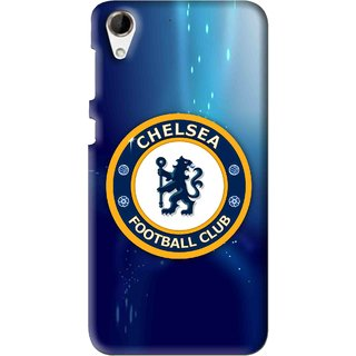 Snooky Printed Football Club Mobile Back Cover For HTC Desire 728 - Multi