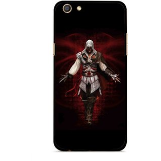 Snooky Printed thor Mobile Back Cover For Oppo F3 - Multi