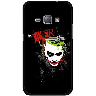 Snooky Printed The Joker Mobile Back Cover For Samsung Galaxy J1 - Multicolour