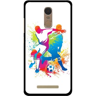 Snooky Printed Footbal Mania Mobile Back Cover For Gionee S6s - Multi