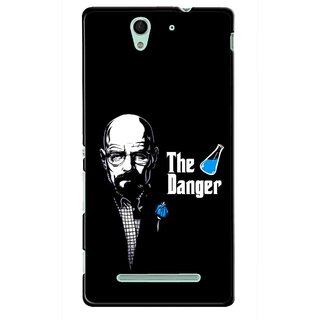 Snooky Printed The Danger Mobile Back Cover For Sony Xperia C3 - Multicolour
