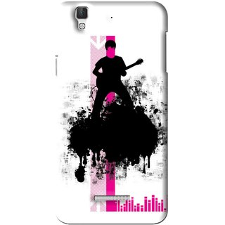 Snooky Printed Music In Air Mobile Back Cover For Coolpad Dazen F2 - Multi