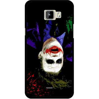 Snooky Printed Hanging Joker Mobile Back Cover For Micromax Canvas Nitro A310 - Multicolour