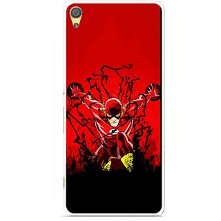 Snooky Printed Super Hero Mobile Back Cover For Sony Xperia XA - Multicolour