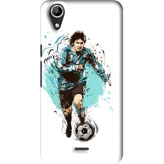 Snooky Printed Have To Win Mobile Back Cover For Micromax Bolt Q338 - Multi