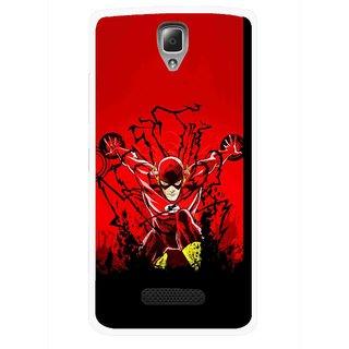 Snooky Printed Super Hero Mobile Back Cover For Lenovo A2010 - Multicolour