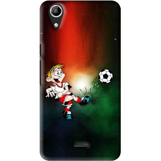 Snooky Printed My Passion Mobile Back Cover For Micromax Bolt Q338 - Multi