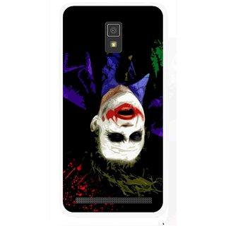 Snooky Printed Hanging Joker Mobile Back Cover For Lenovo A6600 - Multicolour