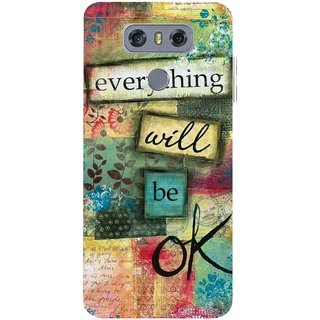 Snooky Printed Will Ok Mobile Back Cover For LG G6 - Multicolour