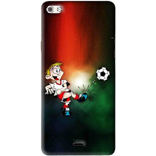 Snooky Printed My Passion Mobile Back Cover For Micromax Canvas Sliver 5 Q450 - Multi