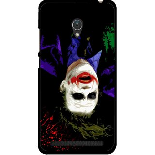 Snooky Printed Hanging Joker Mobile Back Cover For Asus Zenfone 5 - Multicolour