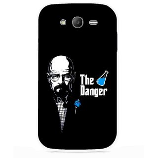 Snooky Printed The Danger Mobile Back Cover For Samsung Galaxy Grand I9082 - Multicolour