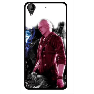 Snooky Printed Fighter Boy Mobile Back Cover For HTC Desire 630 - Multi