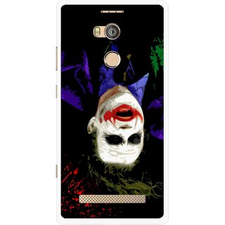 Snooky Printed Hanging Joker Mobile Back Cover For Gionee Elife E8 - Multicolour
