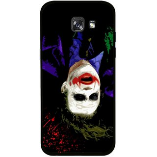 Snooky Printed Hanging Joker Mobile Back Cover For Samsung Galaxy A5 (2017) - Multicolour
