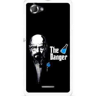 Snooky Printed The Danger Mobile Back Cover For Sony Xperia L - Multicolour