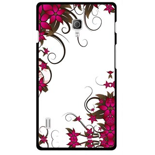Snooky Printed Flower Creep Mobile Back Cover For Lg Optimus L7 II P715 - Multicolour