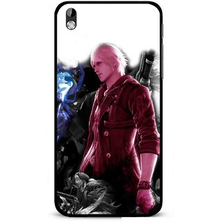 Snooky Printed Fighter Boy Mobile Back Cover For HTC Desire 816 - Multi