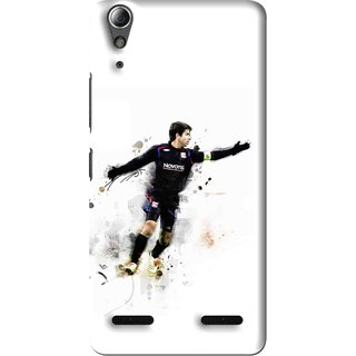 Snooky Printed Pass Me Mobile Back Cover For Lenovo A6000 Plus - Multi