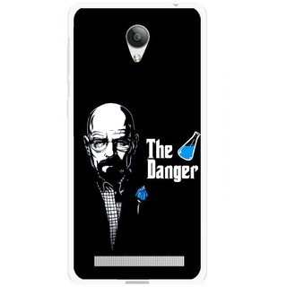 Snooky Printed The Danger Mobile Back Cover For Vivo Y28 - Multicolour