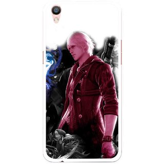 Snooky Printed Fighter Boy Mobile Back Cover For Oppo F1 Plus - Multi