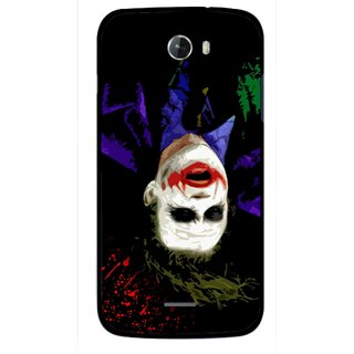 Snooky Printed Hanging Joker Mobile Back Cover For Micromax Bolt A068 - Multicolour