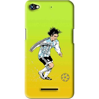 Snooky Printed Focus Ball Mobile Back Cover For Micromax Canvas Hue 2 - Multi