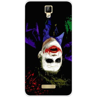 Snooky Printed Hanging Joker Mobile Back Cover For Gionee P7 - Multicolour