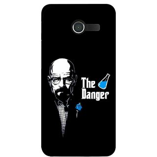 Snooky Printed The Danger Mobile Back Cover For Asus Zenfone 4 - Multicolour