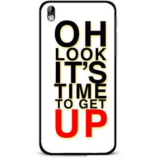 Snooky Printed Get Up Mobile Back Cover For HTC Desire 816 - Multi