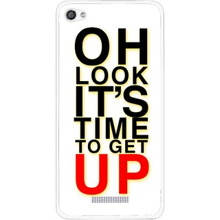 Snooky Printed Get Up Mobile Back Cover For Micromax Canvas Hue 2 - Multi