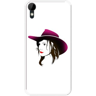 Snooky Printed Tom Boy Mobile Back Cover For HTC Desire 825 - Multi