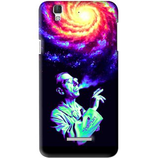 Snooky Printed Universe Mobile Back Cover For Coolpad Dazen F2 - Multi