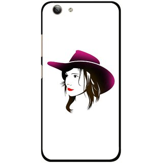 Snooky Printed Tom Boy Mobile Back Cover For Vivo Y53 - Multi