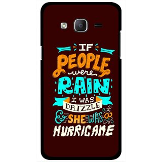Snooky Printed Monsoon Mobile Back Cover For Samsung Galaxy On7 - Multicolour