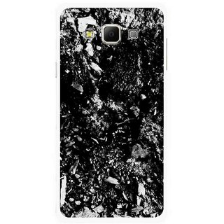 Snooky Printed Rocky Mobile Back Cover For Samsung Galaxy E7 - Multicolour