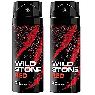 Wild Stone Aqua Fresh Body Deod0rant Body Spray For Men- Set of 2