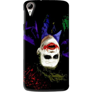 Snooky Printed Hanging Joker Mobile Back Cover For HTC Desire 828 - Multi