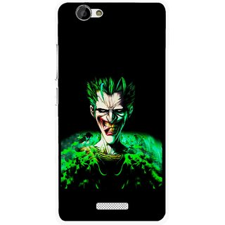 Snooky Printed Daring Joker Mobile Back Cover For Gionee M2 - Multi