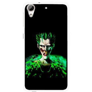 Snooky Printed Daring Joker Mobile Back Cover For HTC Desire 626 - Multi