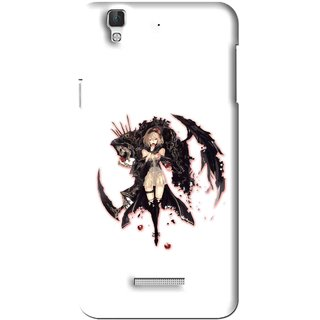 Snooky Printed Kungfu Girl Mobile Back Cover For Coolpad Dazen F2 - Multi