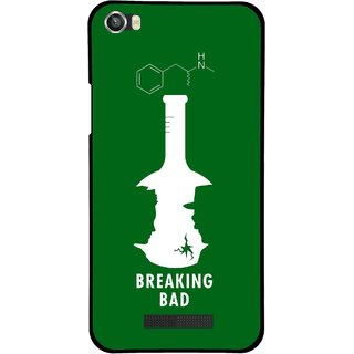 Snooky Printed Breaking Bad Mobile Back Cover For Lava Iris X8 - Multi