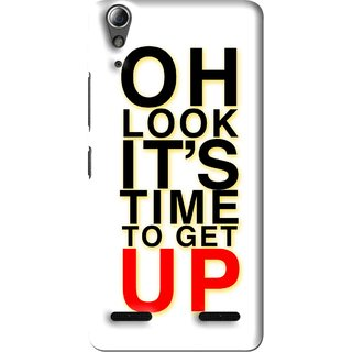Snooky Printed Get Up Mobile Back Cover For Lenovo A6000 Plus - Multi