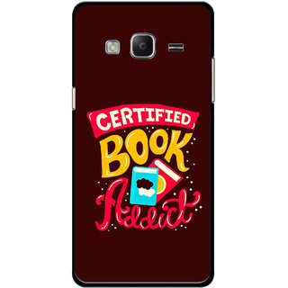 Snooky Printed Reads Books Mobile Back Cover For Samsung Tizen Z3 - Multicolour