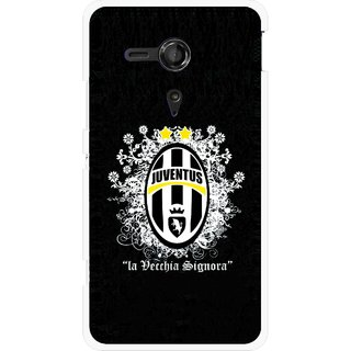 Snooky Printed Signora Mobile Back Cover For Sony Xperia SP - Multicolour